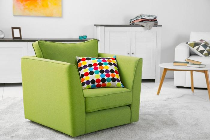 soldes meubles en vert