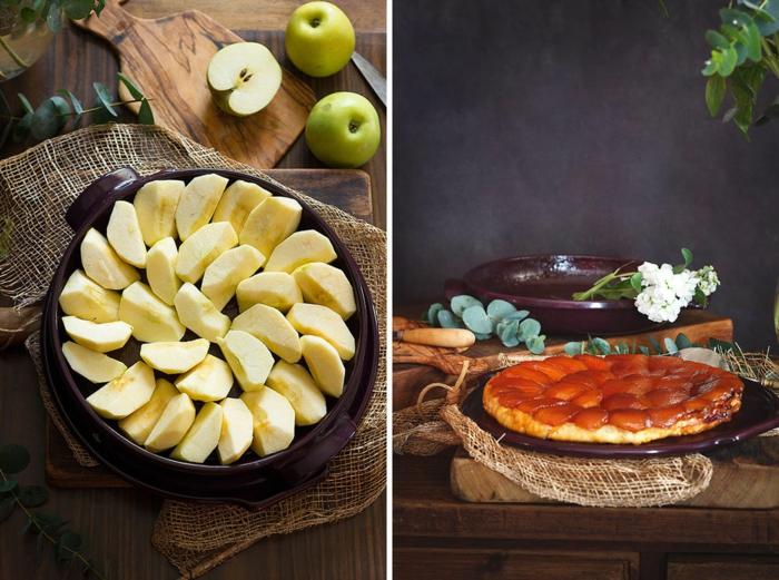 tarte tatin idée de gâteau aux pommes