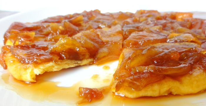 tarte tatin recette de gâteau aux pommes