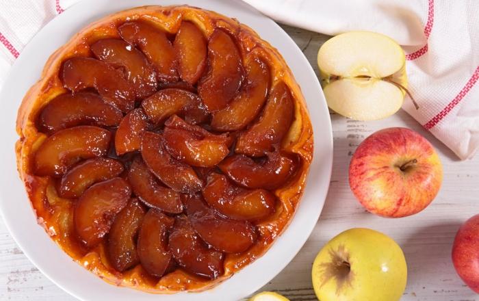 tatin gâteau aux pommes