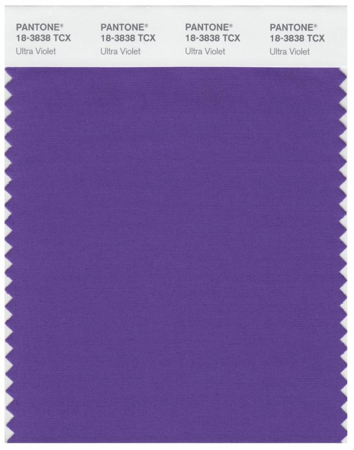 ultra violet couleur de l'année