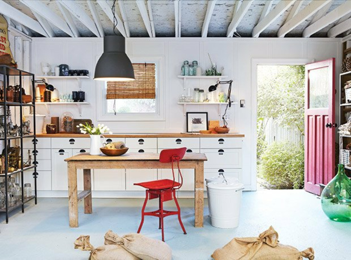 équipement cuisine transformer un garage en habitation