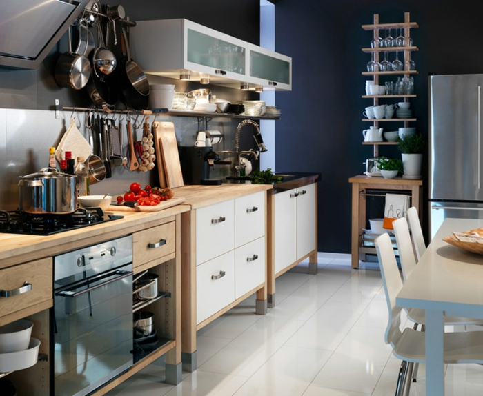aménagement petite cuisine design ikea
