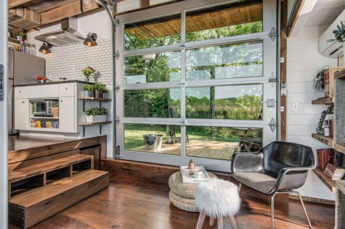 aménagement studio transformer un garage en habitation