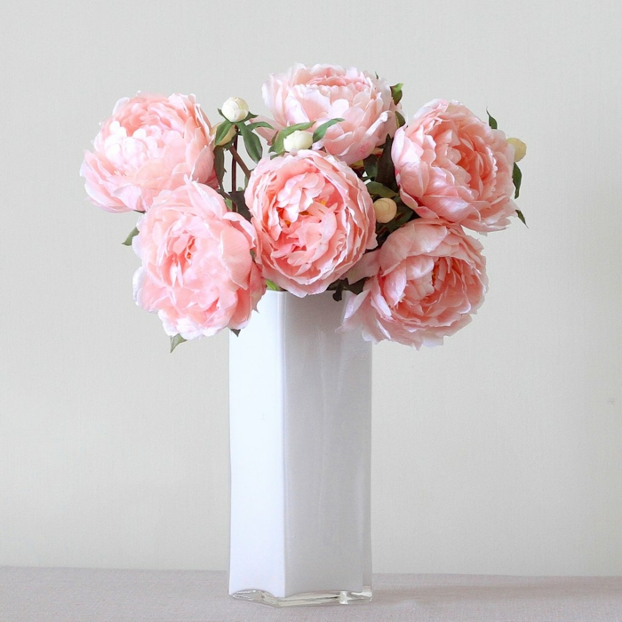 bouquet de pivoines le langage des fleurs