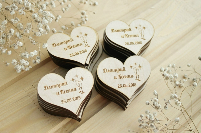 cadeau invités mariage idée de magnets