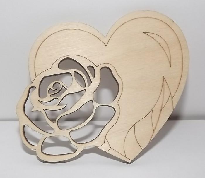 cadeau invités mariage magnet en forme de rose