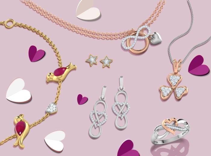 cadeaux saint valentin bijoux