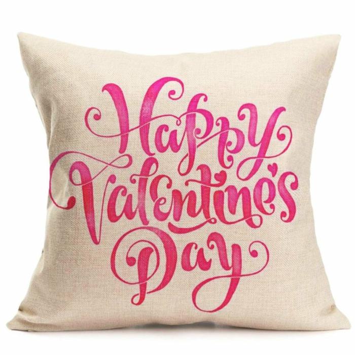cadeaux saint valentin coussin