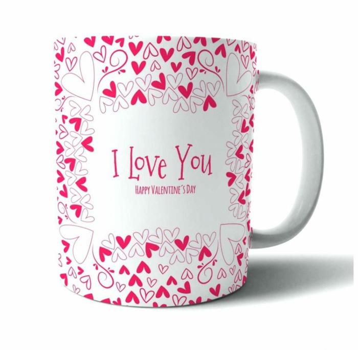 cadeaux saint valentin mug personnalisé