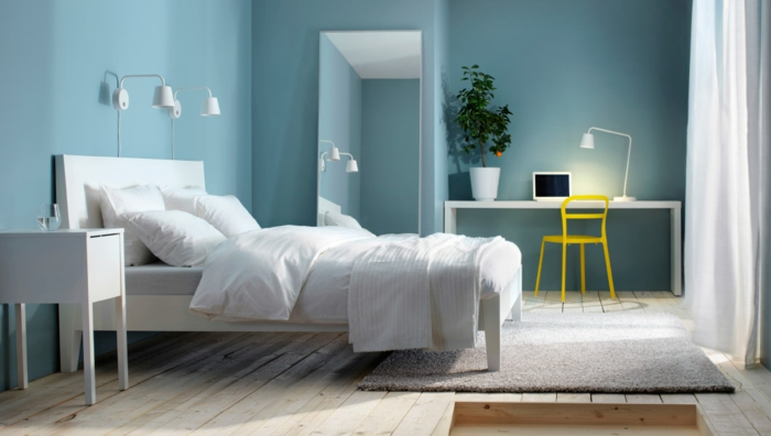 couleur de peinture tendance 2018 choisissez les teintes. Black Bedroom Furniture Sets. Home Design Ideas