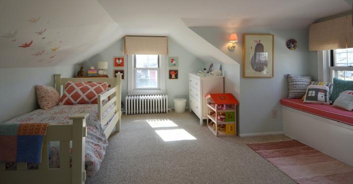 chambre d'enfant chambre mansardée