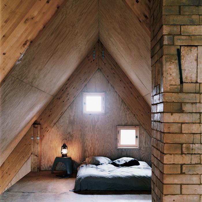 comment am nager et d corer une chambre mansard e. Black Bedroom Furniture Sets. Home Design Ideas