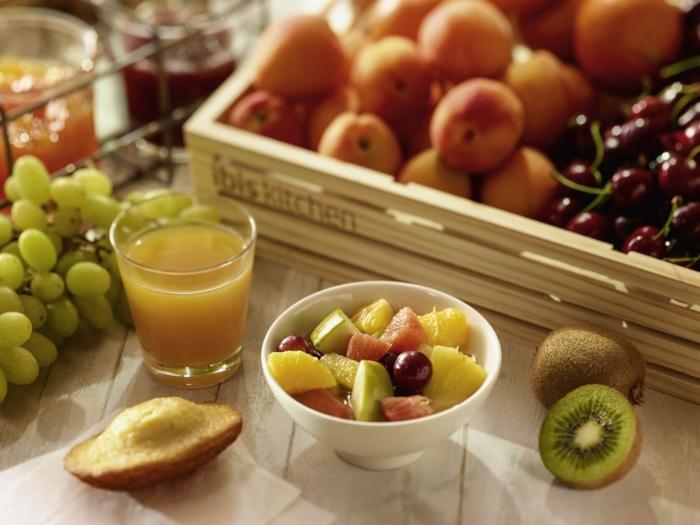 consommation de fruits régime thonon