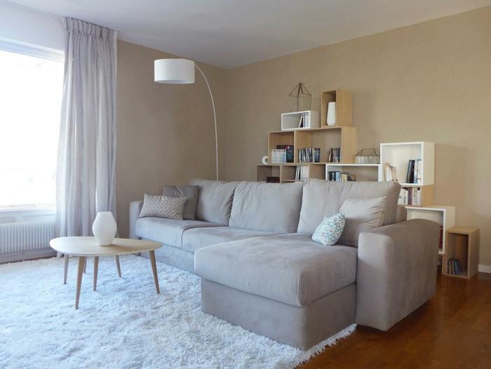 deco peinture salon 2018. Black Bedroom Furniture Sets. Home Design Ideas