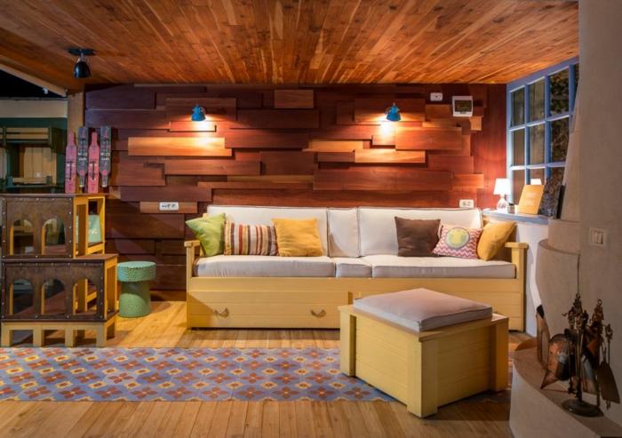 cozy salon transformer un garage en habitation