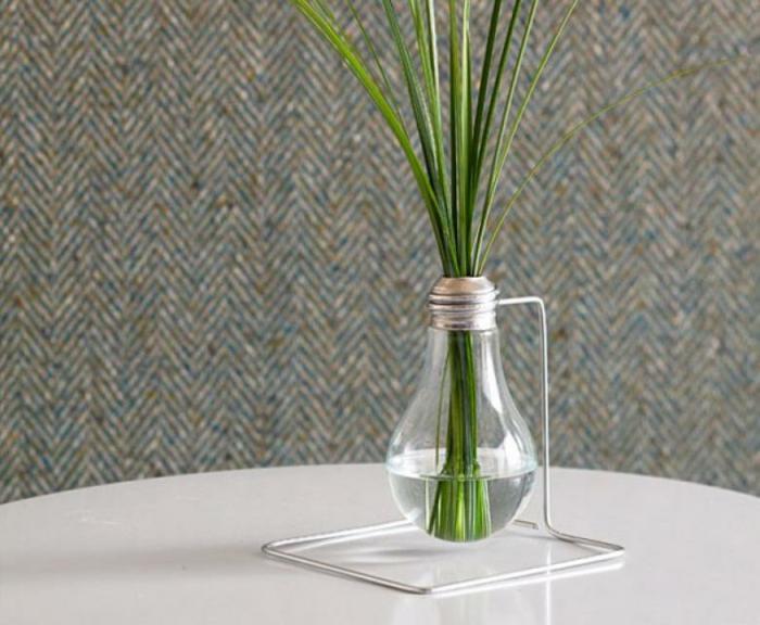 créer un vase ampoules électriques
