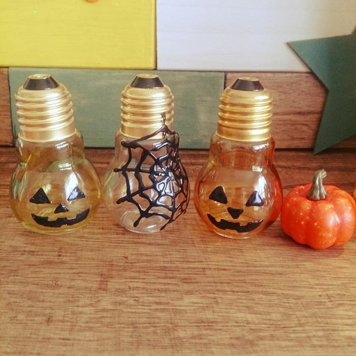 déco halloween ampoules électriques diy