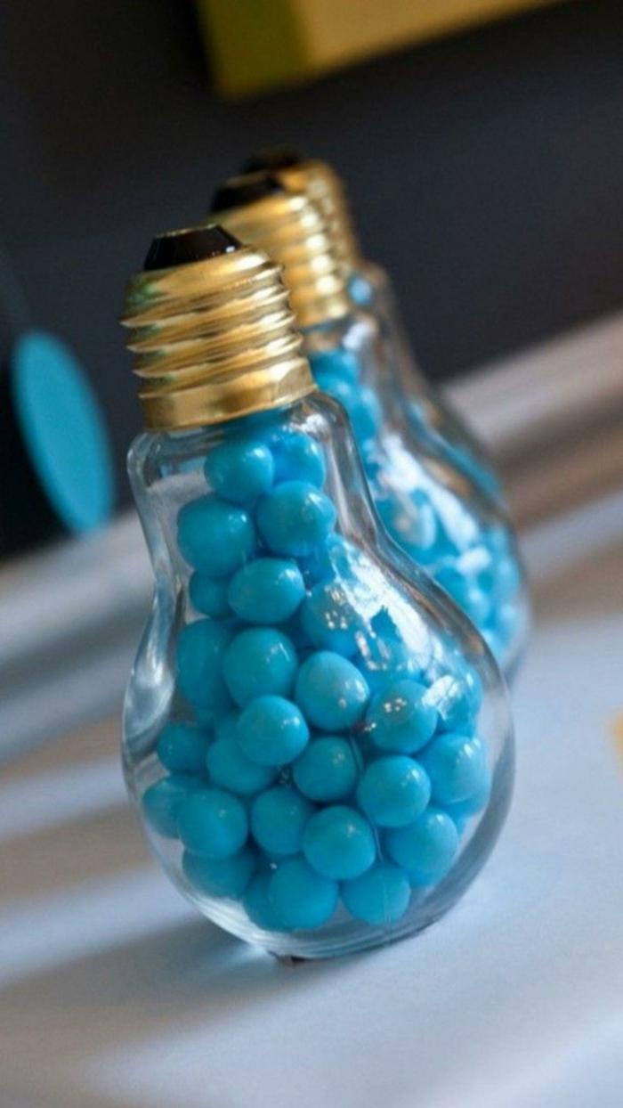 décoration créative ampoules électriques