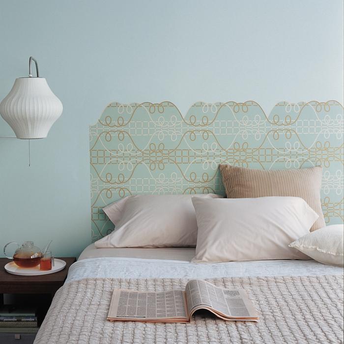 décoration tendance diy une tête de lit
