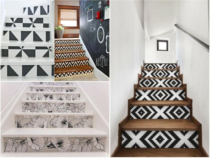 décoration tendance idées pour l'escalier