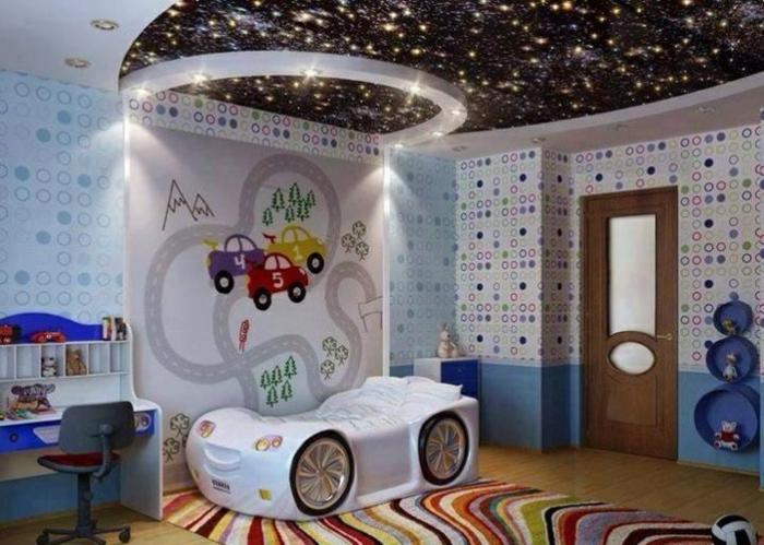 papier peint plafond osez exp rimenter avec la d co. Black Bedroom Furniture Sets. Home Design Ideas