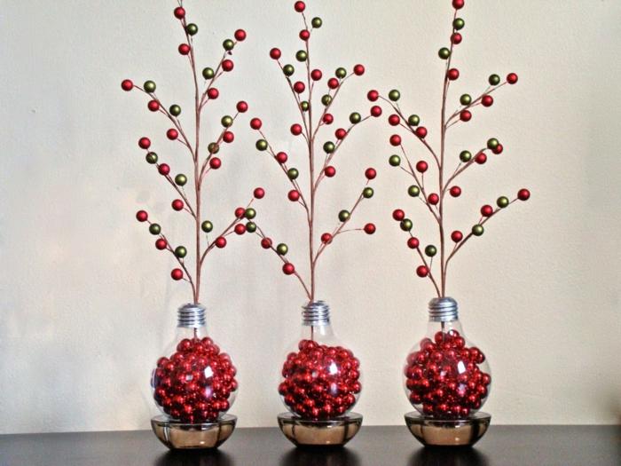 diy arbres décoratifs ampoules électriques