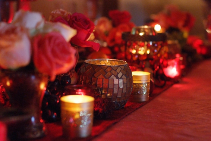 diy déco facile de table pour st valentin