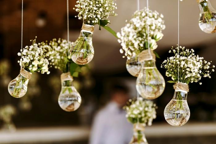 diy déco mariage ampoules électriques