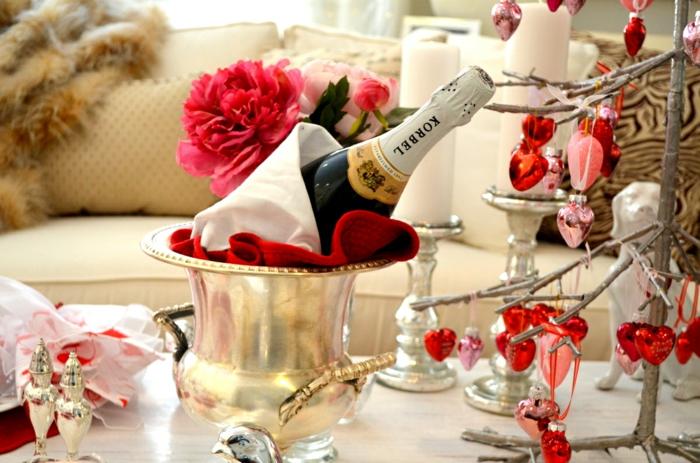diy déco romantique idée pour une table