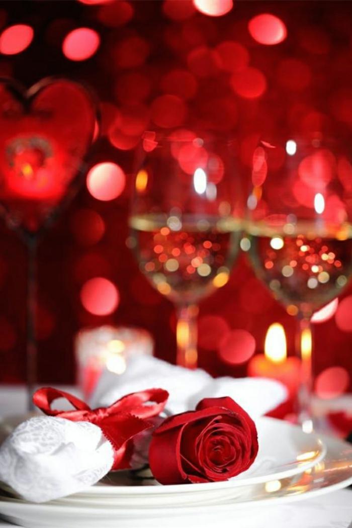 diy déco table romantique