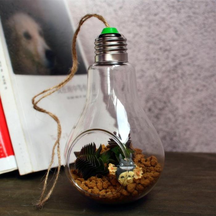 diy terrarium ampoules électriques