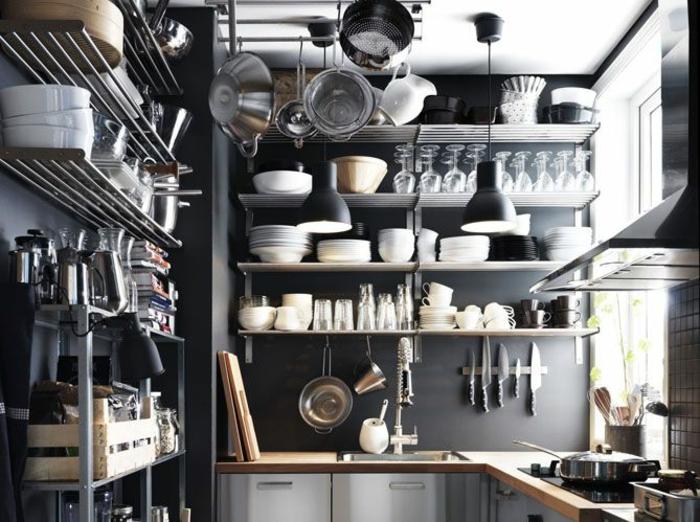 Am nagement petite cuisine id es pour gagner de la place - Idee amenagement petite cuisine ...