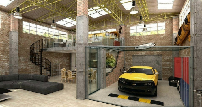 Comment transformer un garage en habitation id es en photos - Idee amenagement garage ...