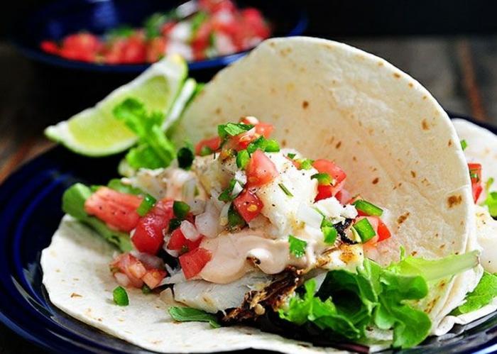 idée de recette tacos sauce fromagère tacos