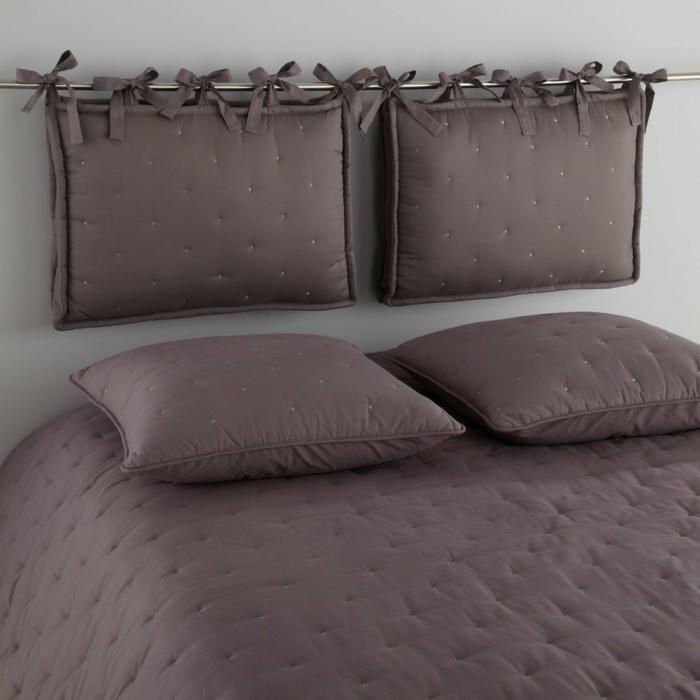 idée fabriquer une tête de lit
