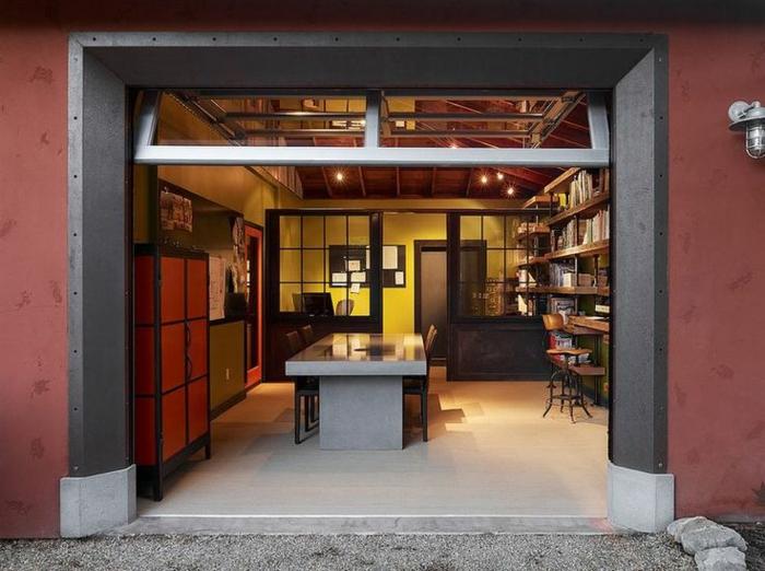 comment transformer un garage en habitation id es en photos. Black Bedroom Furniture Sets. Home Design Ideas