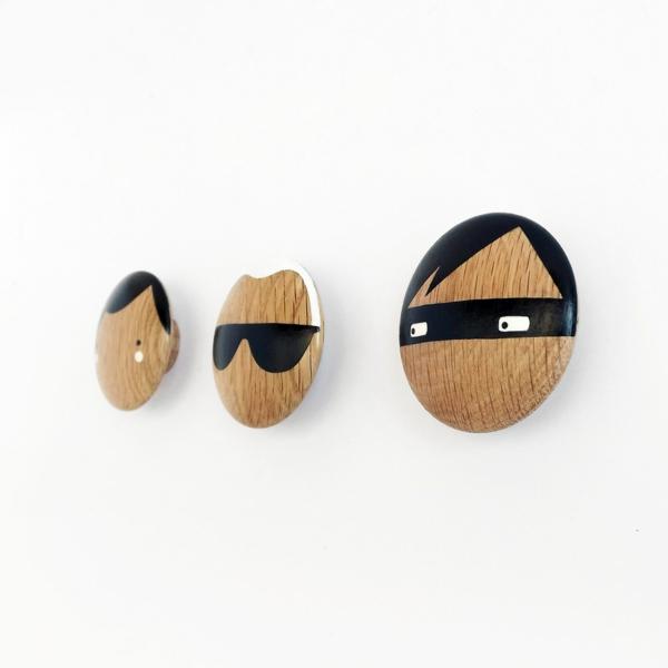 idée patère design bois diy