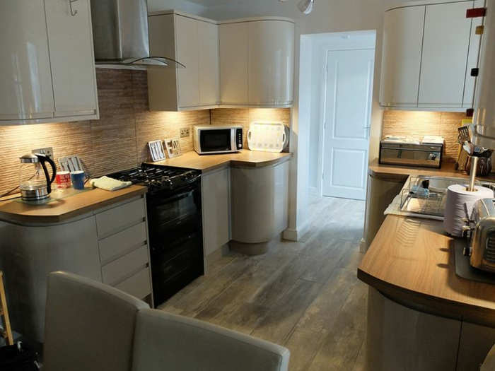 idée petite cuisine transformer un garage en habitation
