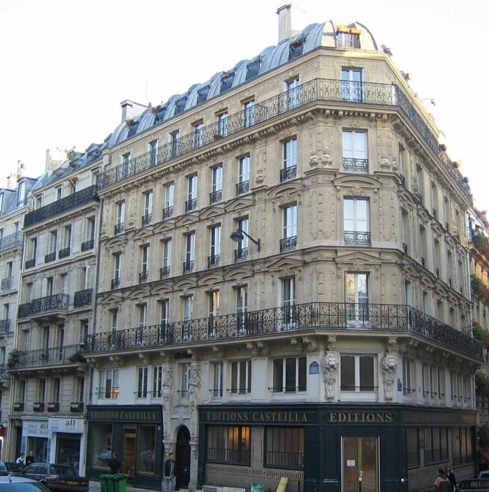 immeuble haussmannien architecture parisienne