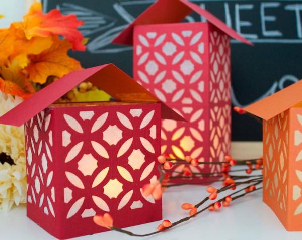 lanterne chinoise décorative en papier diy