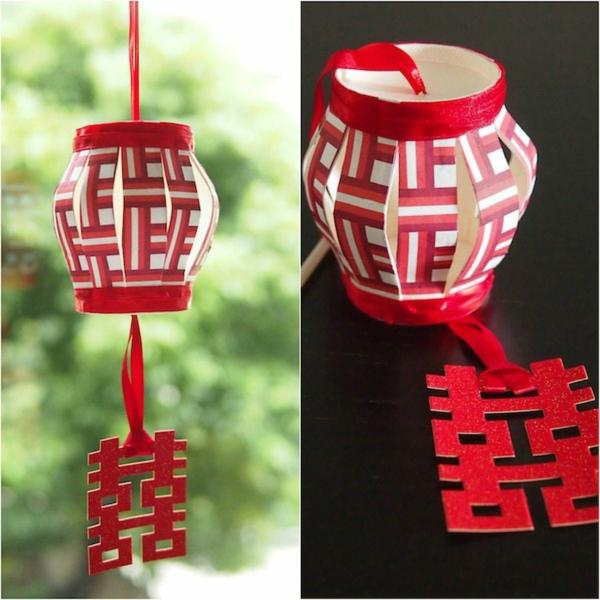 lanterne chinoise diy bricolage