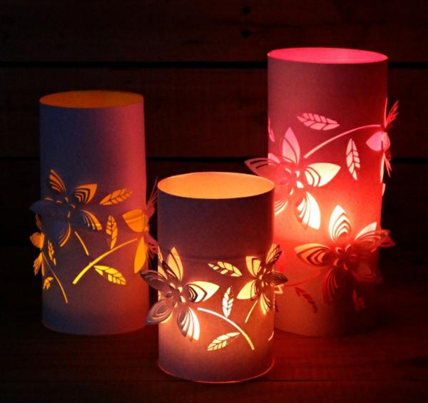 lanterne chinoise en papier 3d