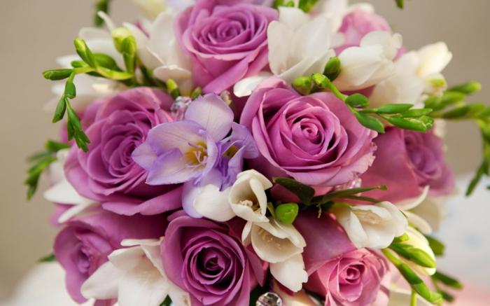le langage des fleurs bouquet de fleurs