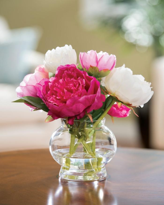 le langage des fleurs pivoines