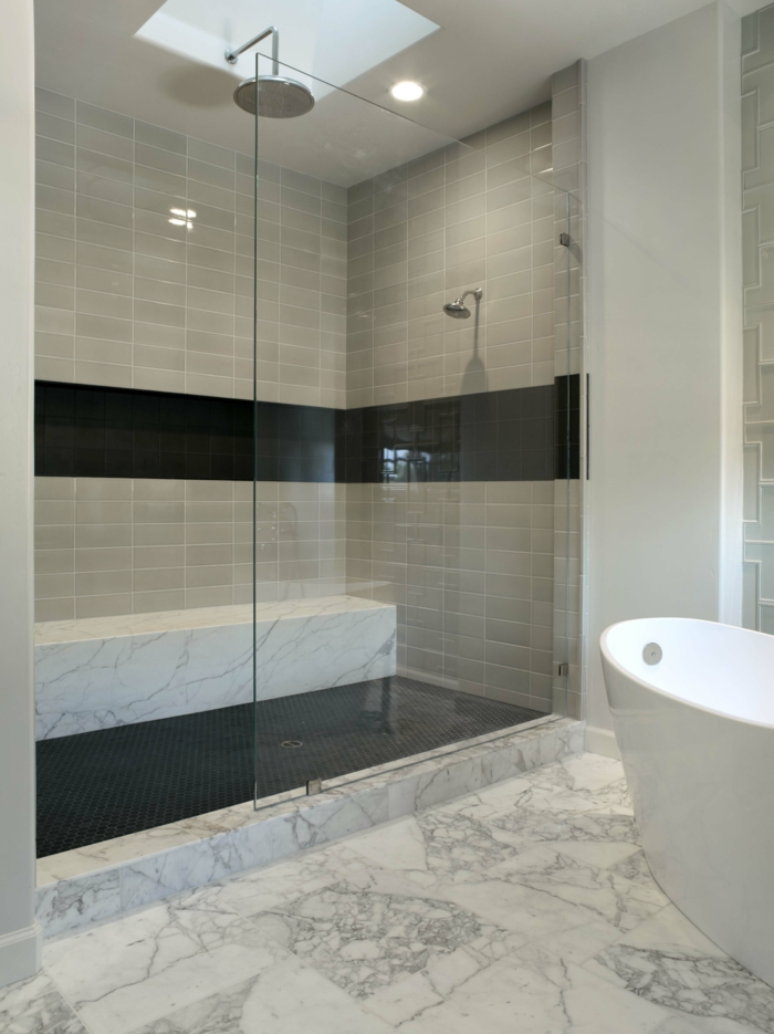 nettoyer les vitres douche avec un nettoyant naturel