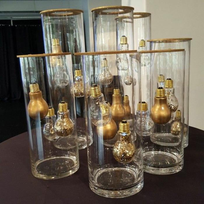objet déco design diy ampoules électriques