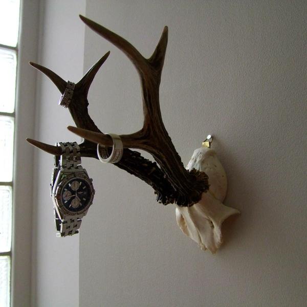 patère design décoration corne de cerf