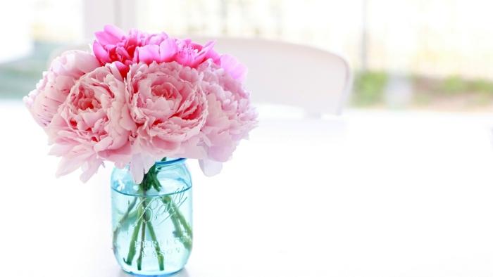 pivoines bouquet le langage des fleurs