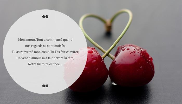 poème romantique déclaration d'amour